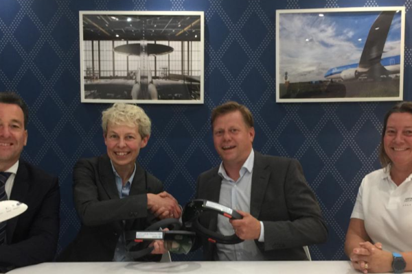 KLM and NLR-Netherlands Aerospace Centre launch NUVEON to integrate Augmented Reality in Maintenance and repair